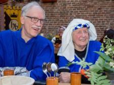 Bont banket: middeleeuws eten met troubadour en magiër