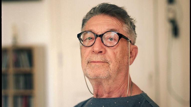 Menno Lodeizen (77), tegenwoordig wonend in Amsterdam-Zuid. Beeld Marc Driessen