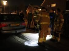 Automobiliste met lekke tank legt dieselspoor door Edese wijk