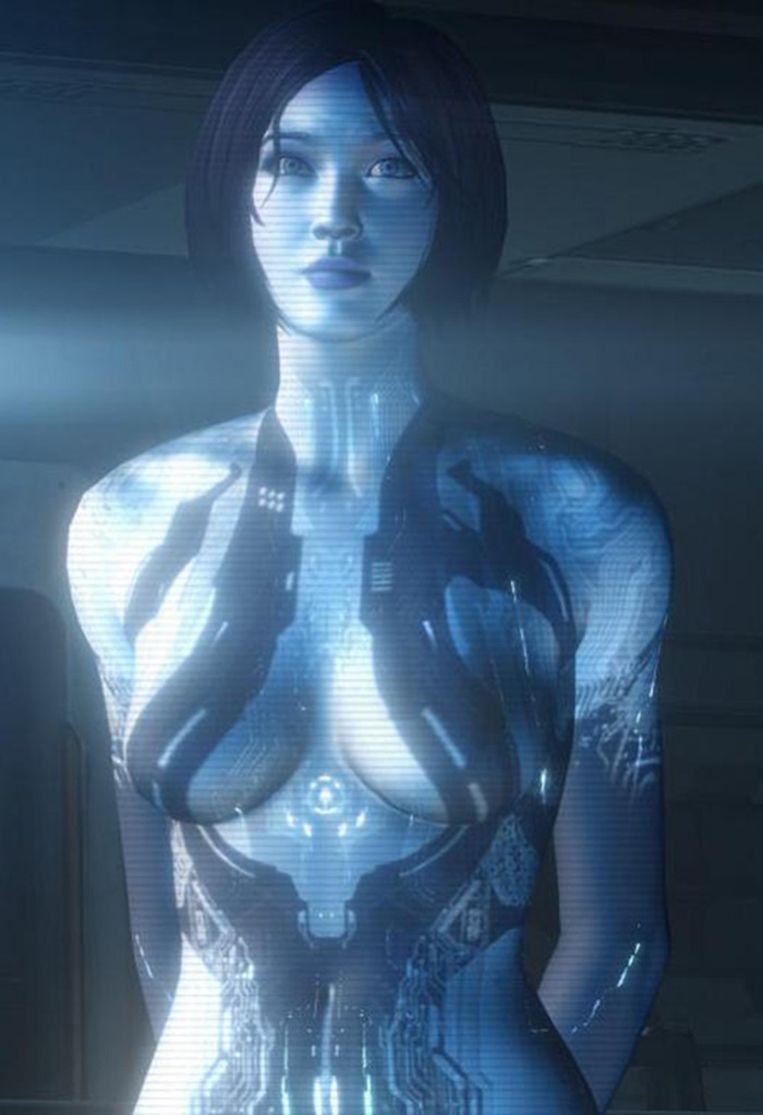 Cortana. Beeld 343 Industries
