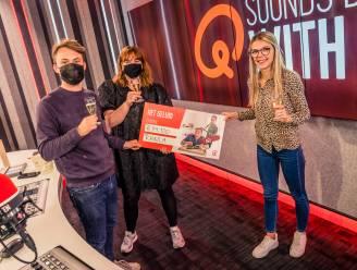 """Khaila wint 44.100 euro met het geluid van Qmusic: """"Het moet echt nog bezinken"""""""