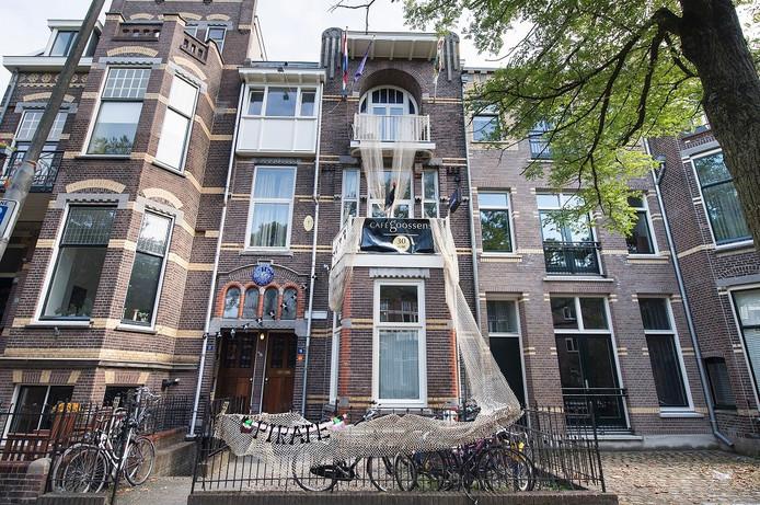 Het dispuutsgebouw van Duerendal in Nijmegen.