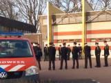 Overleden brandweerman Marco (49) herdacht met ereteken van bluswater