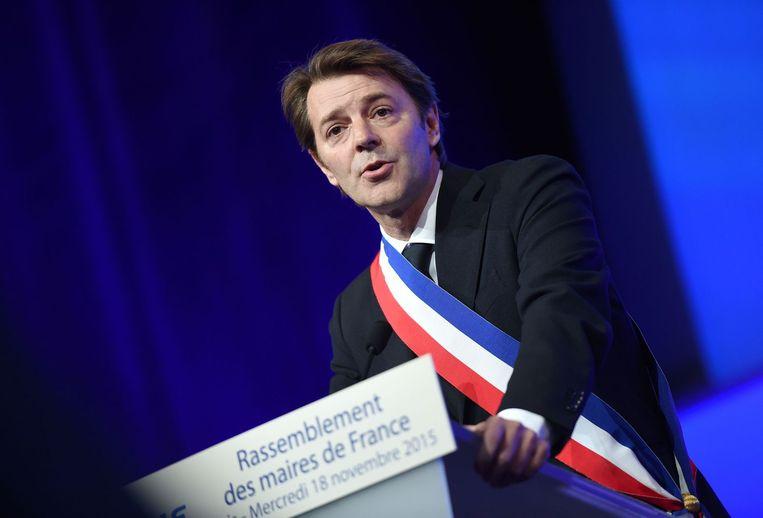 Francois Baroin, burgemeester van Troyes. Beeld null