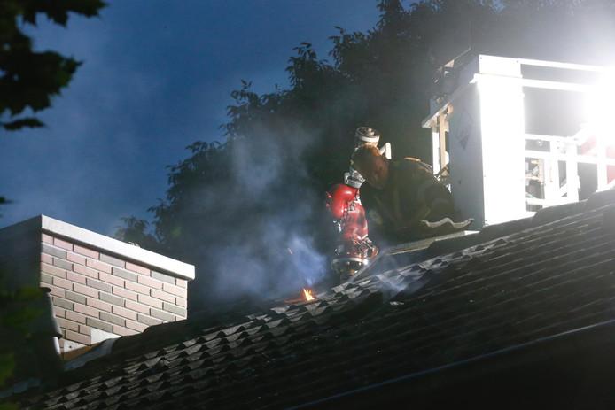 Brand in Spoelerstraat in EIndhoven