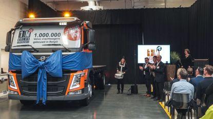 Al 1 miljoen vrachtwagens rolden buiten bij Volvo Gent