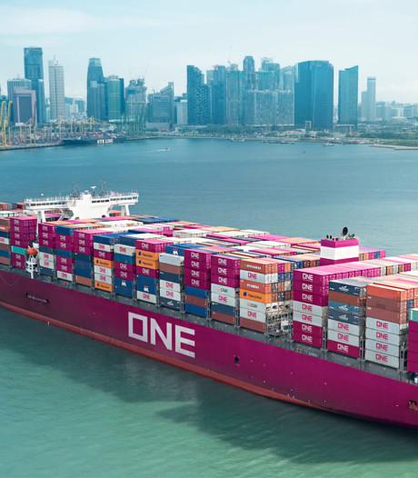 De roze container verovert Rotterdamse haven