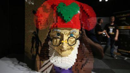 Ook in Lego waait Marylins jurkje op