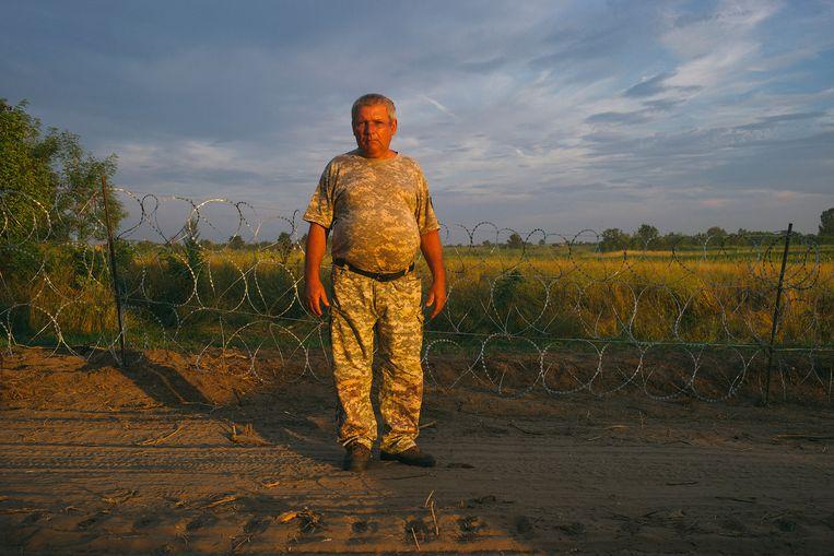 Vince Szalma doet zijn werk graag, hij heeft een hekel aan asielzoekers. Beeld Maksymiian Rigamonti