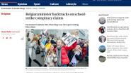 """I said something that was not correct"": zaak-Schauvliege haalt ook internationale pers"