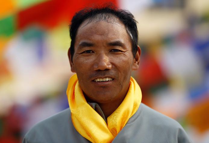 Klimveteraan Kami Rita bedwong Mount Everest deze week voor de 22ste keer, een record.