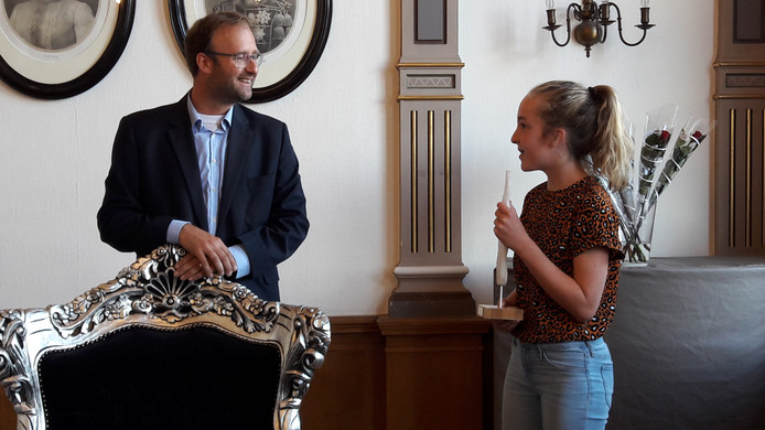Lieke (12) uit Veghel won in de categorie Jeugd
