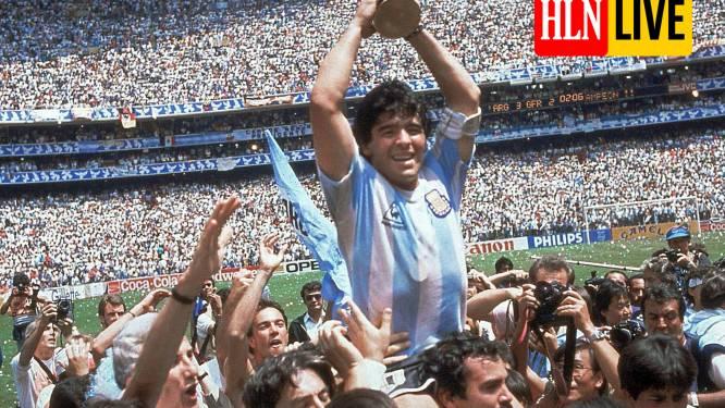 Argentijns voetbalicoon Diego Maradona op 60-jarige leeftijd overleden aan een hartstilstand