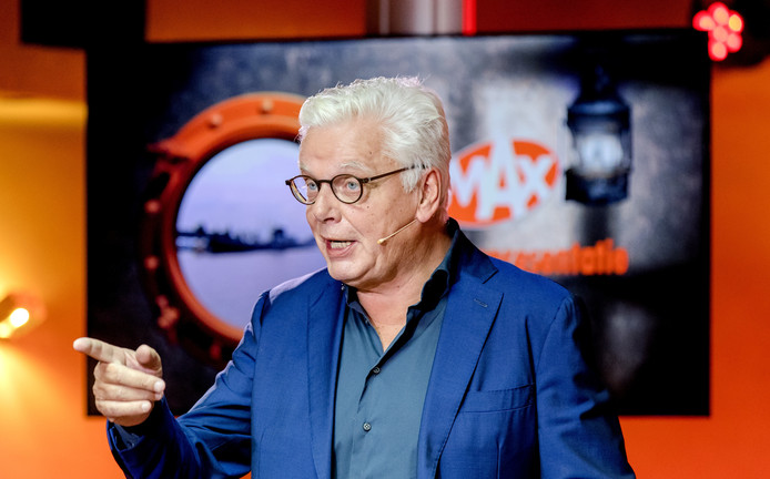 Omroep MAX-directeur Jan Slagter