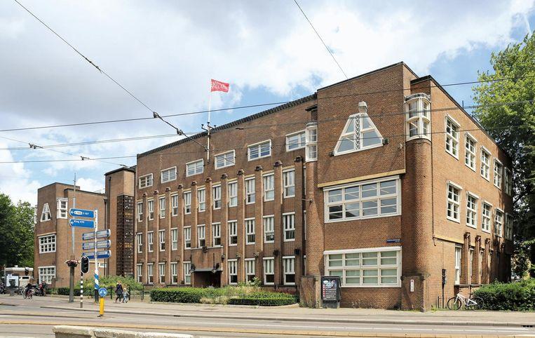 Administratiegebouw der gemeentetram, Stadhouderskade. Architect: Pieter Marnette, 1923 Beeld Pim van Schaik