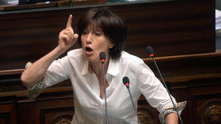 PS-fractieleider Laurette Onkelinx.