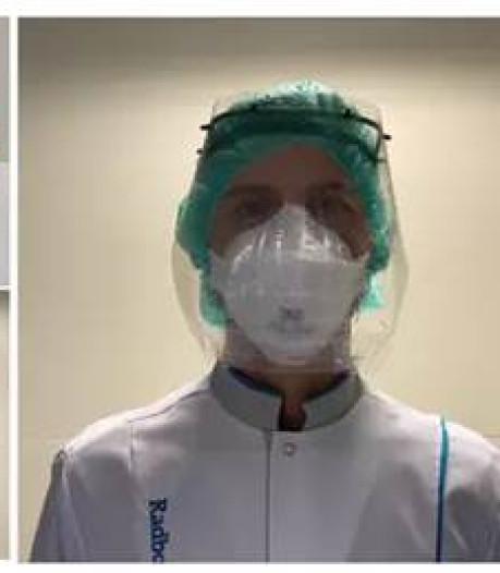 Velps bedrijf helpt in recordtempo met maken maskers voor Radboudumc