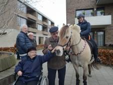 Ali (84) is bang voor paarden, maar aait ze tijdens straô in Burgh-Haamstede