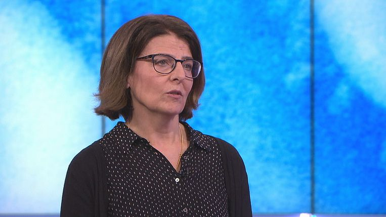 Ann Vossen eerder bij EenVandaag. Beeld NPO