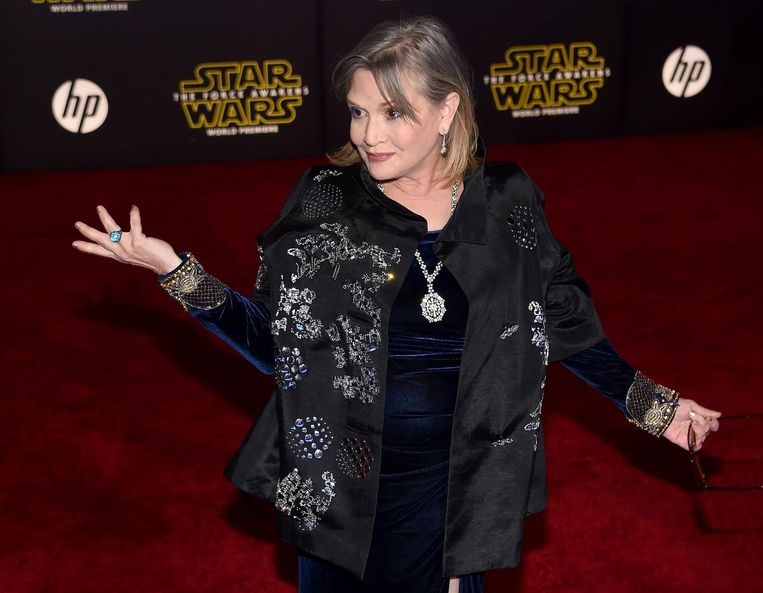Carrie Fisher Beeld ANP