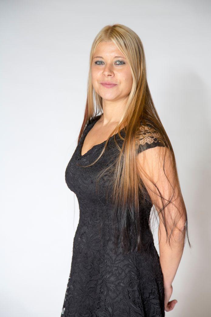 Portret van Lisa Westerveld , nummer 14 op de lijst voor de Tweede Kamer.