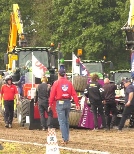 Organisatie Tractorpulling in Alphen: 'Slachtoffer met gebroken ruggenwervel had brute pech'
