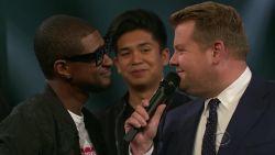 Wie is de meest sexy zanger? James Corden daagt Usher en Luke Evans uit in zangbattle