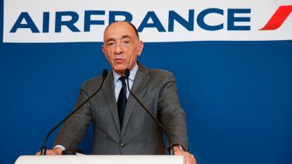 Topman Air France-KLM treedt af na aanhoudende personeelsstaking