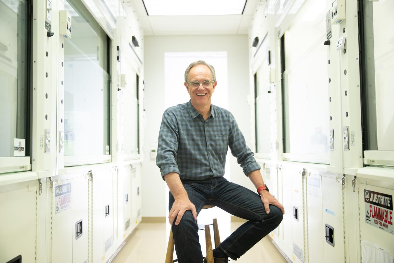 Eric Verdin (62), de Belgische ceo van het Amerikaanse Buck Institute