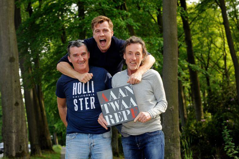 Rudi Taeymans (l), Gunter Ribus (midden) en  Rudi Smidts.