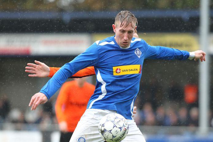 RKHVV-speler Lennart Rekmans (6 goals).