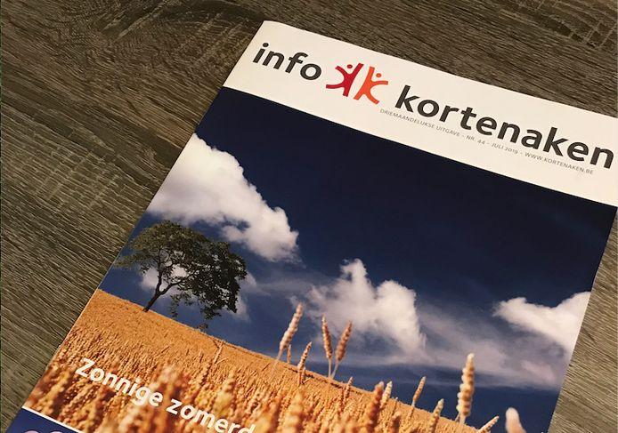 KORTENAKEN-infoblad