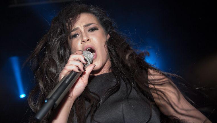 Mariya Yaremchuk neemt voor Oekraïne deel aan het Songfestival. Beeld epa