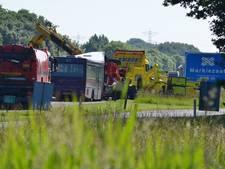 Verkeerschaos bij Bergen op Zoom na botsing bus opgelost