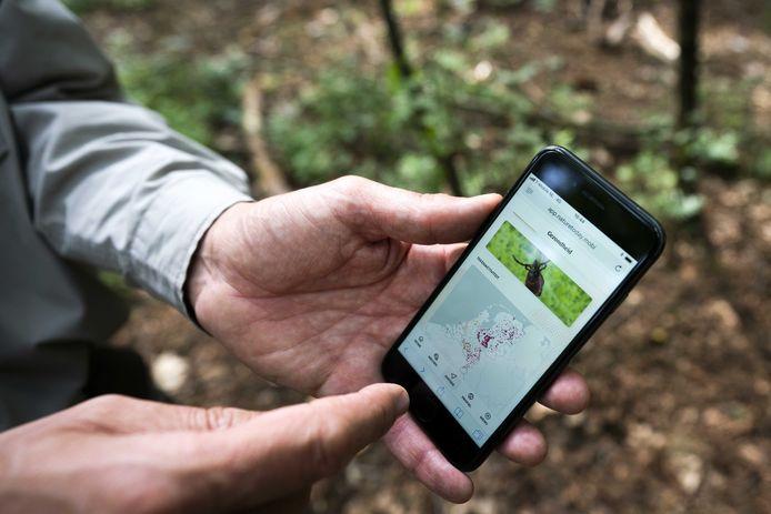 Er zijn verschillende 'teken-apps' voor de mobiele telefoon.