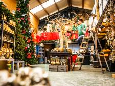 Jeroen tovert zijn bedrijf dan maar om tot kersthal: 'Je wil je eigen broek ophouden'