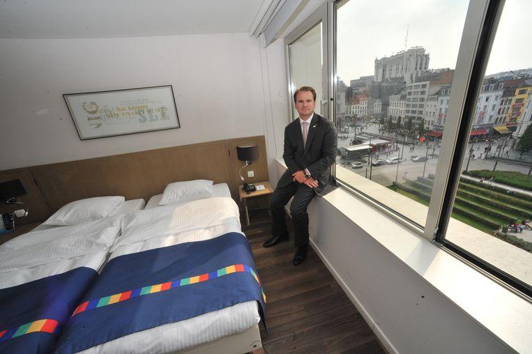Didier Boehlen van Antwerp Hotel Association.