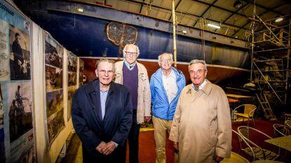 Zeilschip Jacques Brel ontroert Jacques Rogge