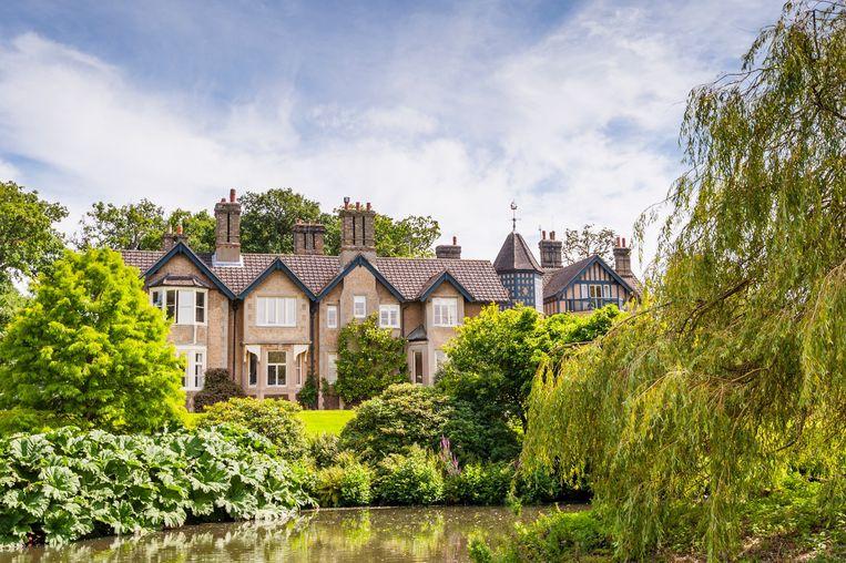 York Cottage at Sandringham Estate in Norfolk , England , Britain , Uk.