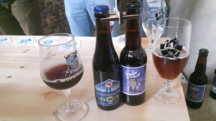 Een donker en een lichter biertje