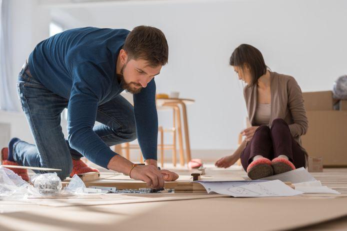 Foto ter illustratie. Het 'Ikea-effect' is volgens psycholoog Dan Ariely een belangrijke voorwaarde voor onze motivatie.