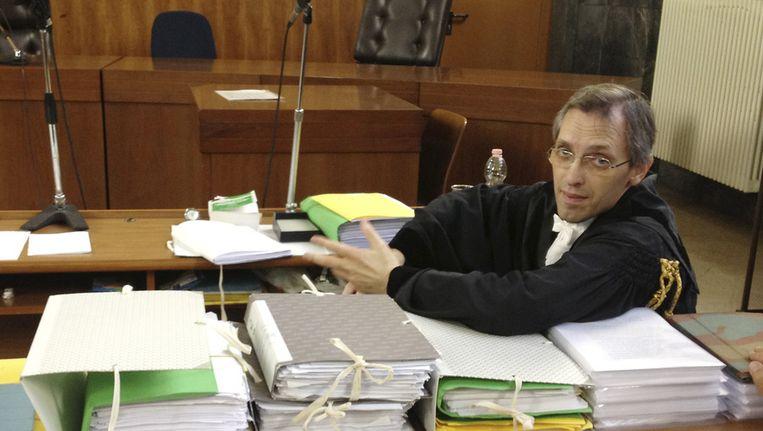 Nicolo Ghedini, advocaat van Berlusconi Beeld ap