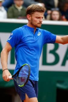 Une démonstration: David Goffin entame Roland-Garros sur les chapeaux de roue