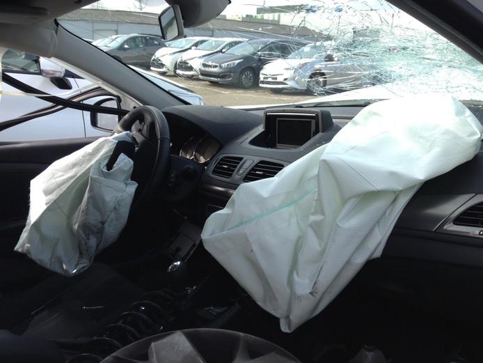 Airbags zijn in trek bij het Brabantse dievengilde.