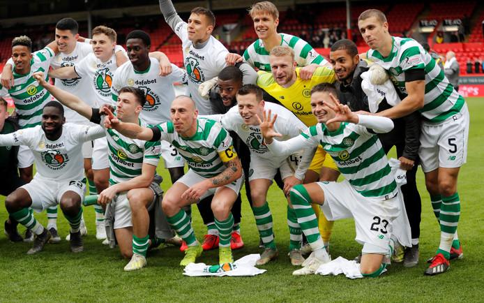 Celtic is voor de achtste keer op rij kampioen van Celtic.