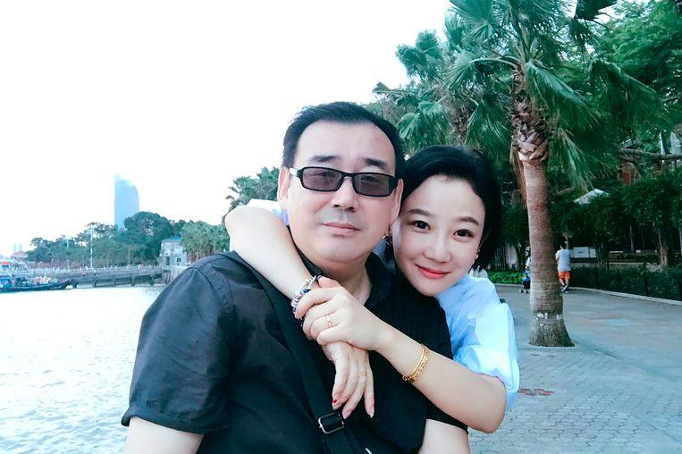Yang Hengjun en zijn vrouw Yuan Xiaoliang op een ongedateerde foto.
