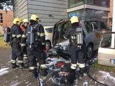 Auto uitgebrand in Leende