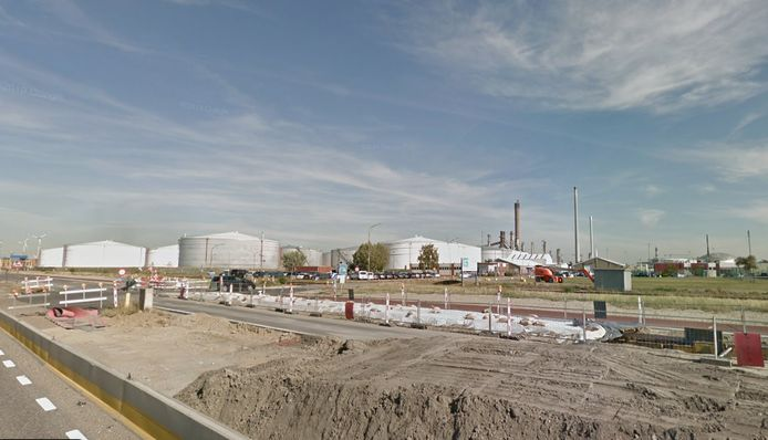Het petroleumbedrijf Gunvor, waar de brand woedt
