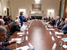 Knetterende ruzie tussen Trump en Pelosi