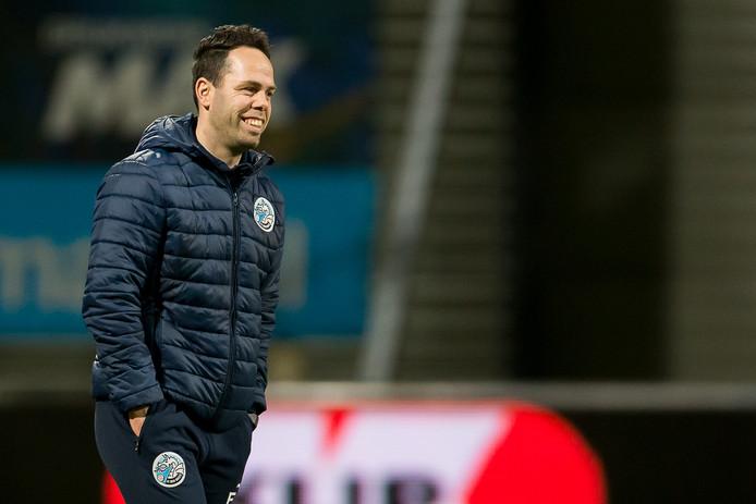 """FC Den Bosch-trainer Erik van der Ven: ,,De nederlaag van Almere City bij Jong AZ was goed nieuws voor ons."""""""